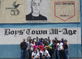 Charles Hyatt Foundation and the US Embassy at Boys Town