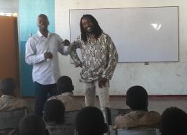 Kabaka and Charles Hyatt II