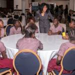 Lanie-Marie Oakly-Williams and Boys Town Girls at Leaders to Leaders